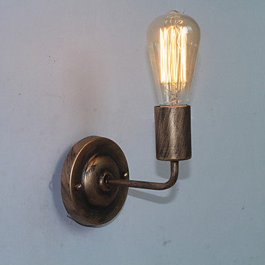 Rustikal / Ländlich / Retro / Vintage Wandlampen Metall Wandleuchte 110-120V / 220-240V 60W