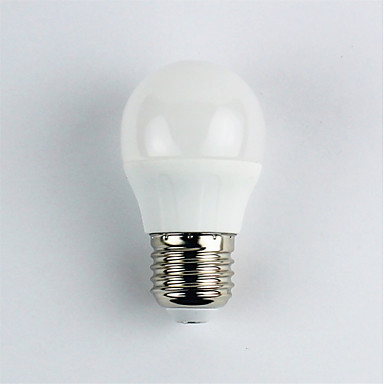 1szt 4W 310 lm E27 Żarówki LED kulki G45 6 Diody lED SMD 3528 Ciepła biel AC 110-240V