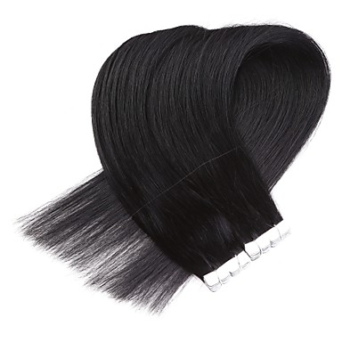 Neitsi Tape In Ludzkich włosów rozszerzeniach Klasyczny Doczepy z naturalnych włosów Włosy naturalne Damskie - Beżowy blond / tleniony blond Jesionowy brąz / Truskawkowy blond / Platynowy blond