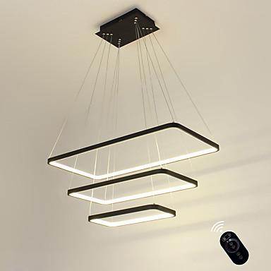 Ecolight™ Linear Pendant Light Ambient Light - Bulb Included, Adjustable, Dimmable, 110-120V / 220-240V, Warm White / White, LED Light