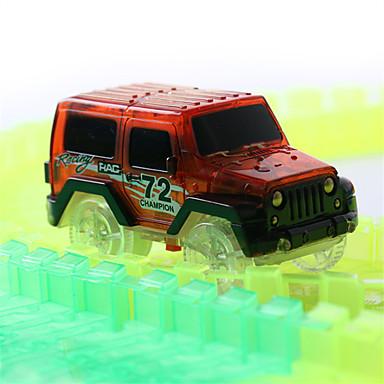 Zestawy z torami Zabawki Zabawki Oświetlenie Świecące w ciemności Elektryczny Fluorescencyjna Dla dzieci Prezent