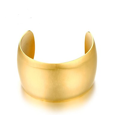 Damskie Bransoletki bangle, Bransoletki cuff - 18K Gold Plated Gold