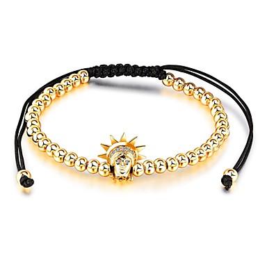 Damskie Cyrkonia, Rhinestone, Obsydian Bransoletki i łańcuszki na rękę - White, Black, Różowe złoto / Ślub