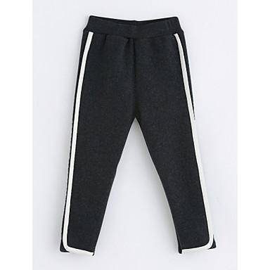 Brzdąc Dla dziewczynek Prążki Bawełna Spodnie
