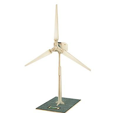 RUOTAI 3D - Puzzle Holzmodelle Windmühle Solar-angetrieben Kinder Geschenk