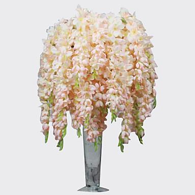1 Ág Poliészter Orchideák Asztali virág Művirágok