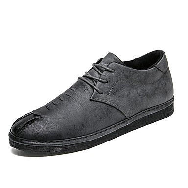 Męskie Komfortowe buty Derma Zima Adidasy Czarny / Szary