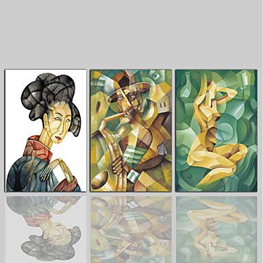 Nadruk na płótnie Comtemporary Klasyczny Rustykalny Nowoczesny, Trzy panele Brezentowy Pionowy Wydrukować wall Decor Dekoracja domowa