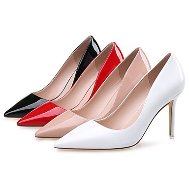 Chaussures 06382555 Rouge Chaussures Bout Chair Talons Femme Automne Habillé Basique Printemps Escarpin à Noir pointu Polyuréthane qWdwZCR