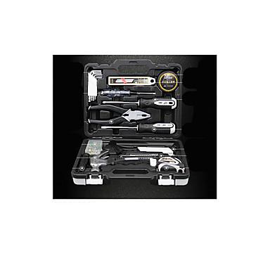 herramientas caja de herramientas de perforación de litio herramienta kit casero de mano de múltiples funciones del metal del paquete de