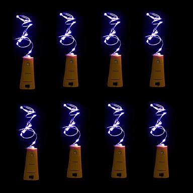 BRELONG® Łańsuchy świetlne 20 Diody LED Ciepła biel Biały Fioletowy Zielony Niebieski <5V