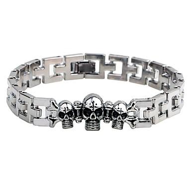 Męskie Bransoletki i łańcuszki na rękę Bransoletka , Modny Gotyckie Stop Circle Shape Biżuteria Wyjściowe Ulica Biżuteria kostiumowa