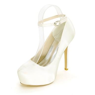 Satin Basique Bout Invalide rond Bleu Femme Printemps Chaussures Talon Aiguille Champagne Eté Escarpin Talons 06457957 Chaussures Invalide à 5q5wgXHOx7
