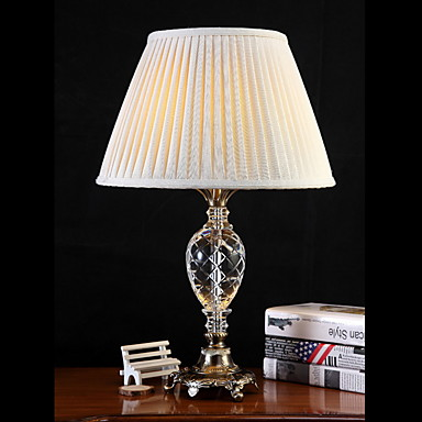 Metaliczny Ochrona oczu Lampa stołowa Na Metal 220V White