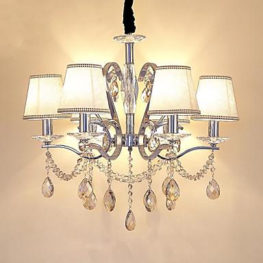 QIHengZhaoMing Lampy widzące Światło rozproszone - Kryształ Ochrona oczu, Modern / Contemporary, 110-120V 220-240V, Warm White, Żarówka w