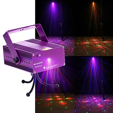 U'King Światło sceniczne laserowe DMX 512 Master-Slave Aktywowana Dźwiękiem Pilot zdalnego sterowania 12 na Klub Ślub Scena Impreza