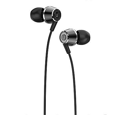 hi820 Słuchawka douszna Przewodowa Słuchawki Zrównoważona armatura Plastik / Metal Pro Audio Słuchawka z mikrofonem / Z kontrolą głośności Zestaw słuchawkowy