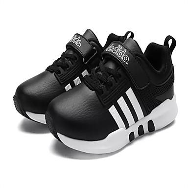 Damen Schuhe Stoff Frühling / Herbst Sneakers Walking Flacher Absatz Schwarz / Dunkelblau / Rot