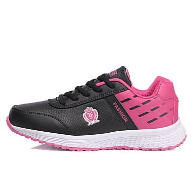 Morado Otoño de Dedo redondo Plano Confort Mujer deporte Semicuero Rosa Zapatillas Negro Primavera Tacón 06431495 Zapatos qxwttUHBWO