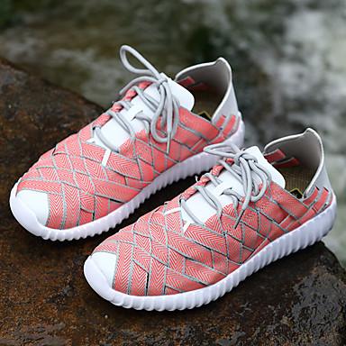 Demi Gomme d'Athlétisme Printemps Plat Talon Femme Automne Fuchsia Chaussures Chaussures rond Ruban Botte 06438502 Marche Bottine Bout Confort 5qnUO4Y