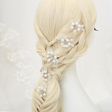 Kryształ Imitacja pereł Szpilka do włosów 1 Ślub Specjalne okazje Winieta