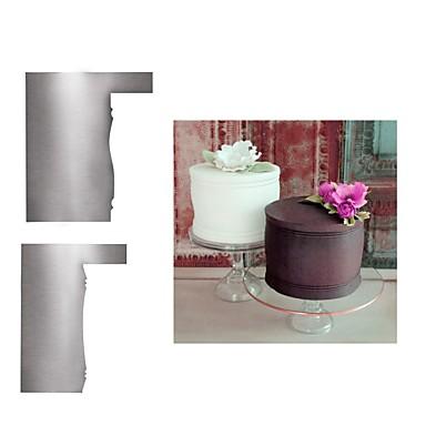 Narzędzia do pieczenia Stal nierdzewna Nowości / Narzędzie do pieczenia / Kreatywne Tort Foremki do ciasta 2 szto.