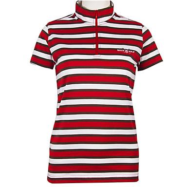 בגדי ריקוד נשים גולף טי שירט ייבוש מהיר עמיד לביש נשימה גולף פעילות חוץ