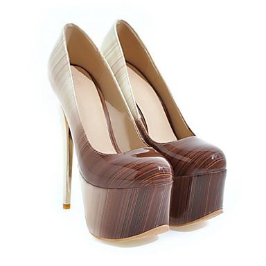 e622eeab059 Γυναικεία Παπούτσια PU Φθινόπωρο / Χειμώνας Ανατομικό / Πρωτότυπο Τακούνια  Τακούνι Στιλέτο Στρογγυλή Μύτη Κόκκινο / Πράσινο / Ροζ / Γάμου