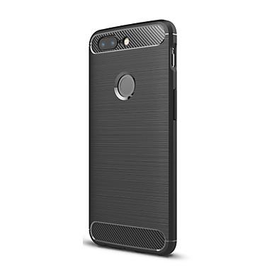 מגן עבור OnePlus OnePlus 5T 5 אולטרה דק כיסוי אחורי צבע אחיד רך TPU ל One Plus 5 OnePlus 5T One Plus 3 One Plus 3T