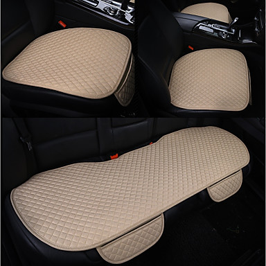 cheap Car Seat Covers-Clearance ODEER Car Seat Cushions Seat Cushions Beige Functional For universal All years All Models