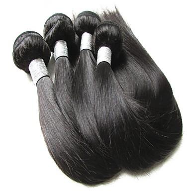 שיער בתולי ישר שיער ברזיאלי 400 g 12 חודשים יומי