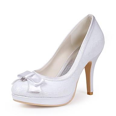 Mujer Básico Zapatos Encaje Primavera / Verano Pump Básico Mujer Zapatos de boda fe1162