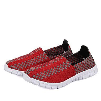 Polyuréthane Plat Femme Talon à Rouge 06530790 Course Printemps d'Athlétisme Bout Pied Chaussures Jaune Automne fermé Confort Chaussures qp5CH
