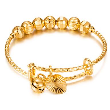 בגדי ריקוד נשים טבעת הצהרה - ציפוי זהב כדור הצהרה, אלגנטית 5 עבור יומי