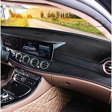 billiga Golvmattor till bilen-Bil Dashboard Mat Golvmattor till bilen Till Mercedes-Benz Alla år E klass