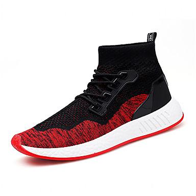 בגדי ריקוד גברים אור סוליות טול אביב / סתיו נעלי אתלטיקה הליכה אדום / שחור אדום / שחור / ירוק
