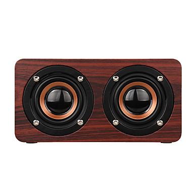 W55 Altoparlante Bluetooth Stile Mini Bluetooth Altoparlante Micro Usb Marrone #06521602