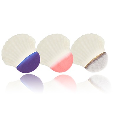 1pc מברשות איפור מקצועי מברשת ניילון / שיער סינטטי ידידותי לסביבה / מקצועי / רך פלסטיק