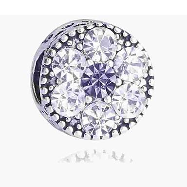 Acquista A Buon Mercato Gioielli Fai-da-te 1 Pezzi Perline Diamanti D'imitazione Lega Argento Tonda Perlina 0.2 Cm Fai Da Te Collana Bracciali #06506333 Assicurare Anni Di Servizio Senza Problemi