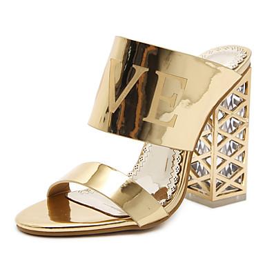 Printemps Femme Mode Noir Bottes 06531683 à Confort Nouveauté Talon Eté Or cristal Sandales Chaussures Similicuir la Mariage r6wqzEr