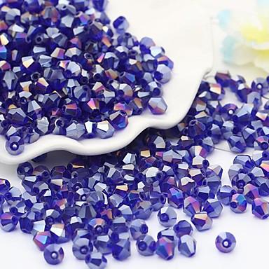 תכשיטים DIY 115 יח חרוזים זכוכית קשת אדום ירוק כחול בהיר כחול ים לֹא סָדִיר חָרוּז 0.4 cm עשה זאת בעצמך שרשראות צמידים