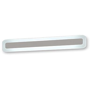 OYLYW סגנון קטן פשוט / LED / מודרני / עכשווי תאורת חדר אמבטיה חדר שינה / מקלחת מתכת אור קיר IP20 AC100-240V 24 W / משולב לד