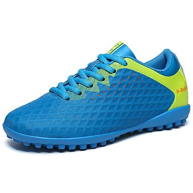בגדי ריקוד גברים PU אביב / סתיו נוחות נעלי אתלטיקה כדורגל כתום / ירוק בהיר / כחול ים
