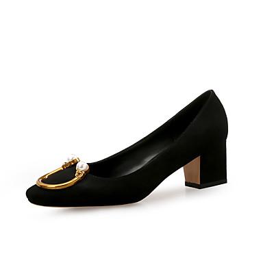 Boucle Noir à Talon Flocage Chaussures Soirée Femme Chaussures Evénement Talons Confort Printemps 06532667 amp; Automne Rouge Gris Bottier xWqPx8wUYv