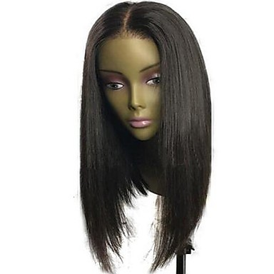 Human Hair Glueless Full Lace Full Lace Wig Indian Hair Straight