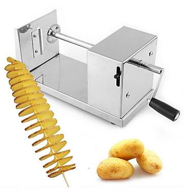 זול בית וגן-טורנדו תפוחי אדמה מכונת חותך ספירלה חיתוך תפוחי אדמה שבבי כלי מטבח