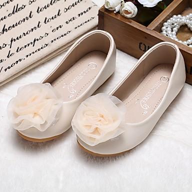 d8ea645151f Chica Zapatos PU microfibra sintético Primavera Otoño Zapatos para niña  florista Confort Bailarinas Paseo Apliques Banda para Boda Fiesta