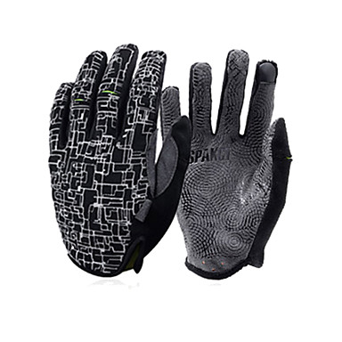 SPAKCT Full Finger Cycling Gloves Sports Gloves Touch Screen Winter Mountain Bike Mitten Cycling