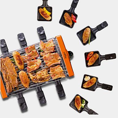 גריל ברביקיו חשמלי סגסוגת אלומיניום מגנזיום תרמי Cookers 220 V 1200 W מכשיר מטבח