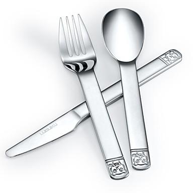 כלי אוכל 3pcs פלדת על חלד סט 16*3.5;16*2.7;17*1.6 cm